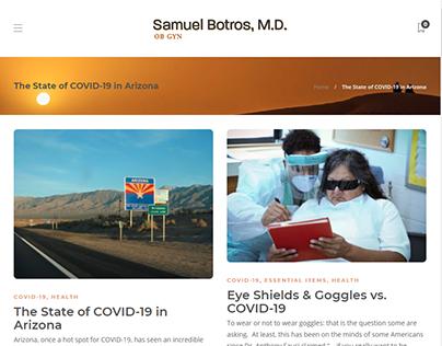 COVID-19 Blog Posts