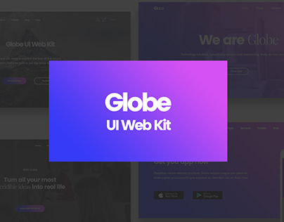 Globe UI Web Kit