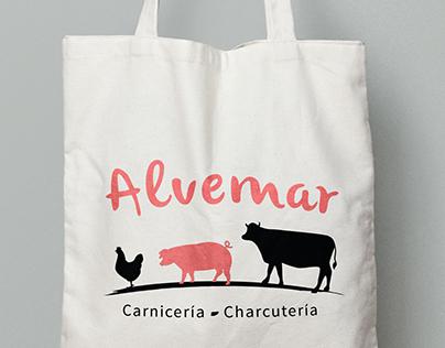 Logo for butcher's Alvemar