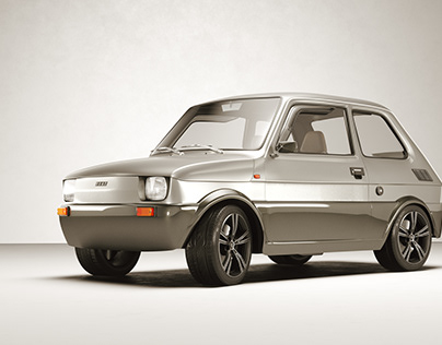Fiat 126 restyle