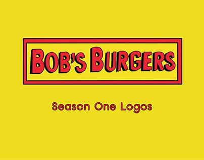 Bob's Burgers Season One Logos