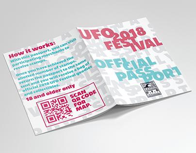 2018 UFO Festival - Branding