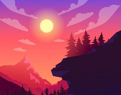 landscapes illustrations 2