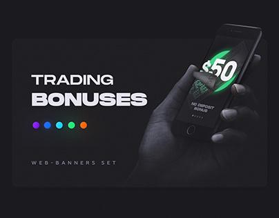 Trading Bonuses | Web-Banners Set