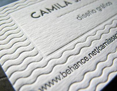 Mi tarjeta personal