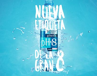 Agua Génesis / Design