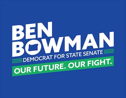 Ben Bowman For Oregon Senate District 18