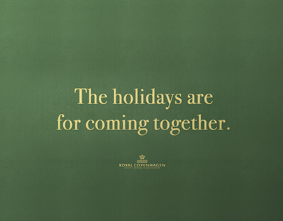Royal Copenhagen - The holidays are for coming together