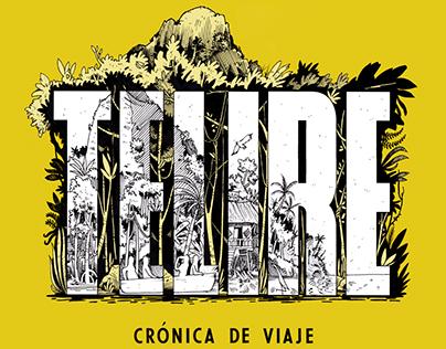 """Ilustración para libro """"TELIRE"""" - Álvaro Rojas Salazar"""