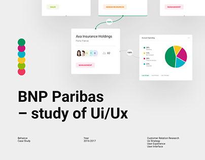 BNP Paribas - UI/UX design