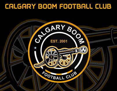 Calgary Boom FC no official logo design