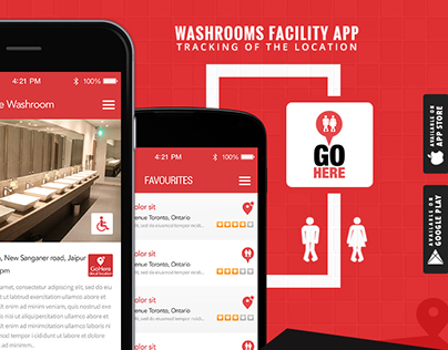 Washroom Locator App