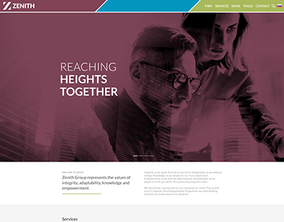 Zenith Group - WordPress Website Build