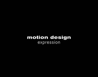 Motion Design - Expression
