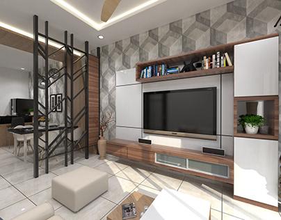 3 Bedrooms Terrace Showunit @ Jasin