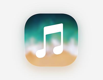iOS Cover Sheet Media Controls Concept