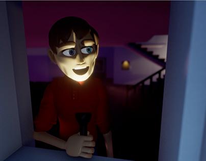"""""""O Mundo Não Pára"""" 3D animation"""