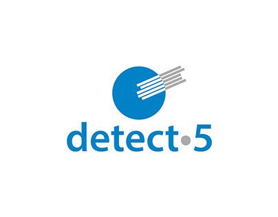 Logo Design for a Multi-Drug Screen Test   Detect 5