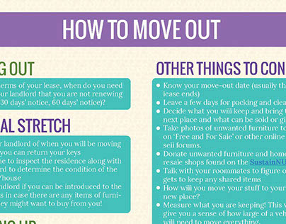 How to Move Out