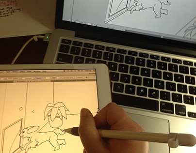Illustrating a Product Video: Smart Doggy Door