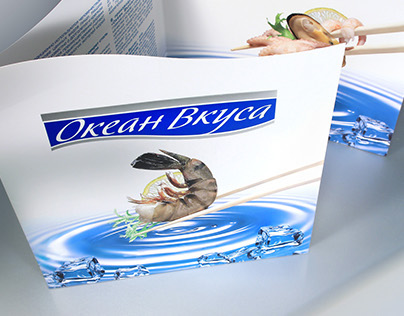 Ocean Vkusa  packaging and prints