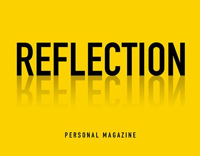 Reflection - Magazine | Graphic Design