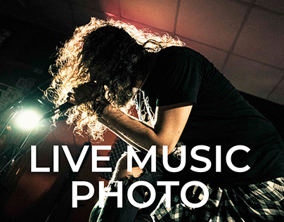 Live Music Photogaphy