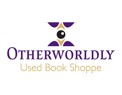 Otherworldly Used Book Shoppe Brand Identity