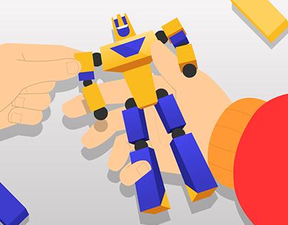 Анимационный ролик Roboclub