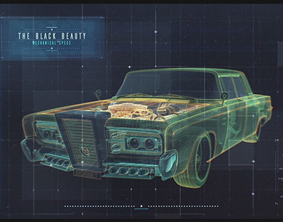 Green Hornet Motion Graphic Stills