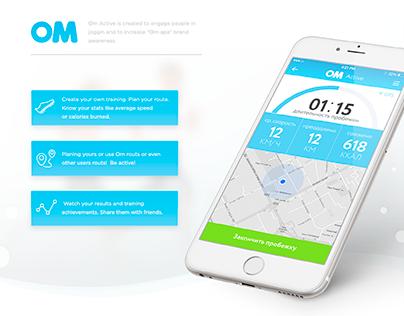 Om app
