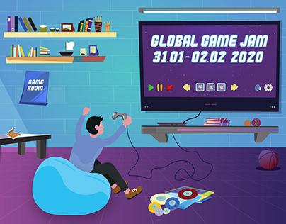 Game Room - Poster Design