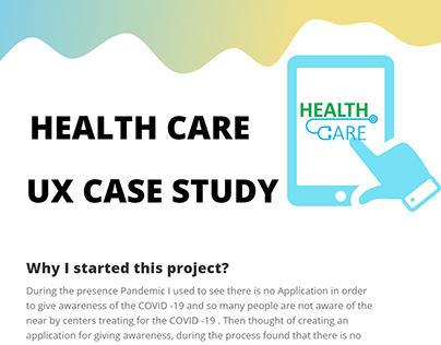 Case study of health care application.