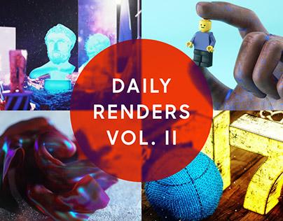 Daily Renders Vol. II