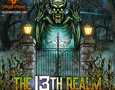 The 13th Realm Haunted Attraction Character/Art/Logo