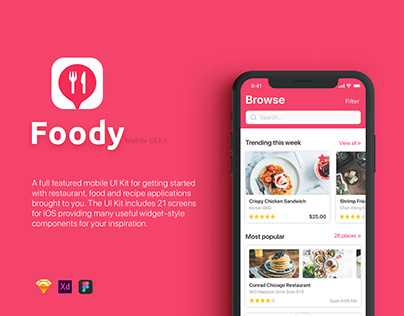 Foody UI Kit