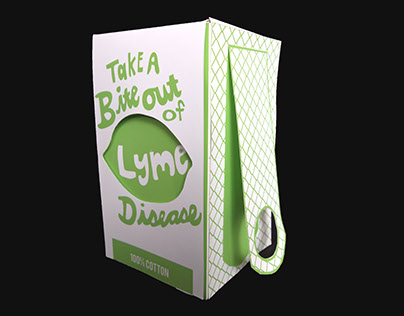 Lyme Disease T-Shirt Package Design