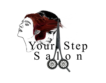 Moving Salon logo design