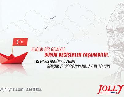 Jolly Tur / 19 Mayıs / Advertisement