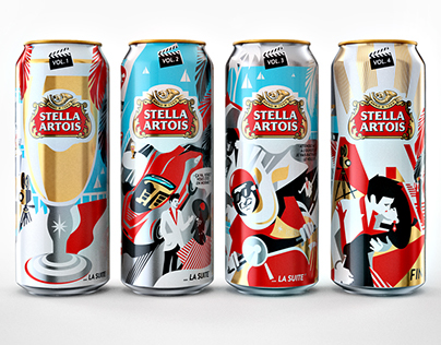 Stella Artois limited edition for Cannes Film Festival
