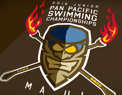 Junior Pan Pacific Championships Logo Identity