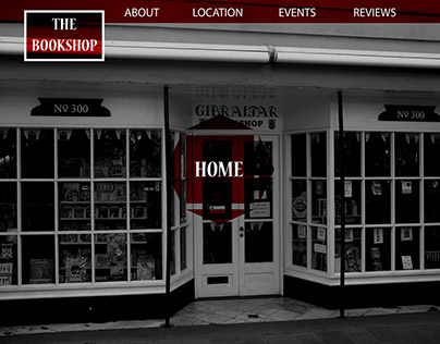 The Bookshop - Website Creation Student Project