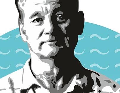 Bill Murray Illustration