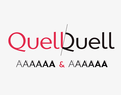Quell typeface family