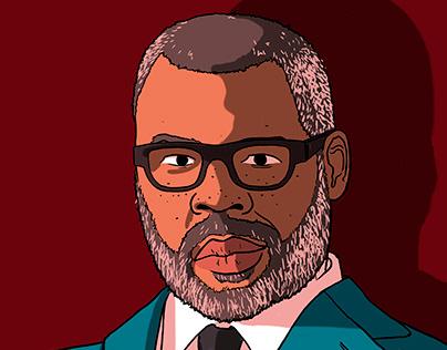 Portrait of Jordan Peele