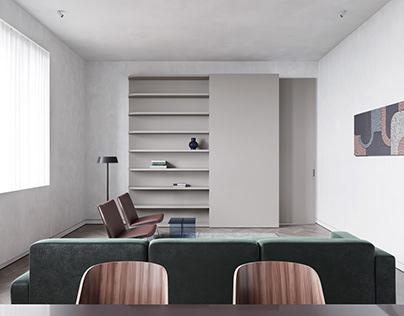 75 sq meters apartment