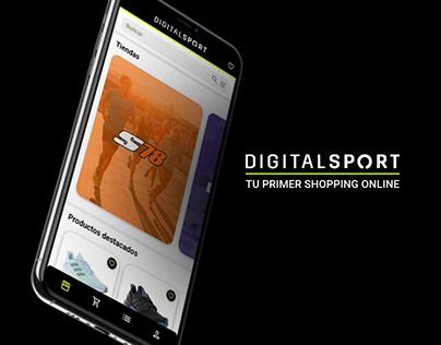 Digital Sport   UX/UI