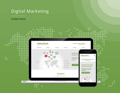 Landing page :: Marketing Consultant