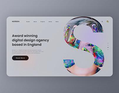 Branding Agency Web Landing Page