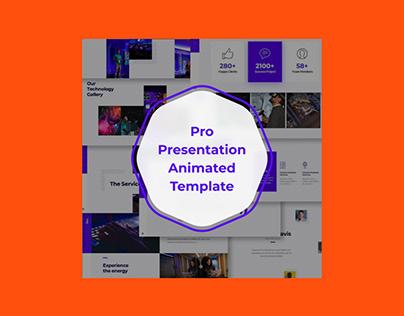 Pro Presentation Animated Template